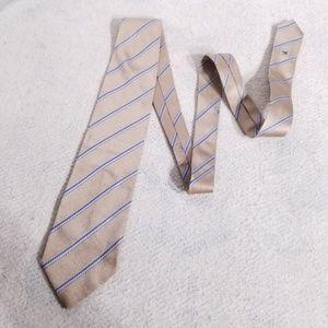 Burberry Diagonal Striped 100% Silk Neck Tie